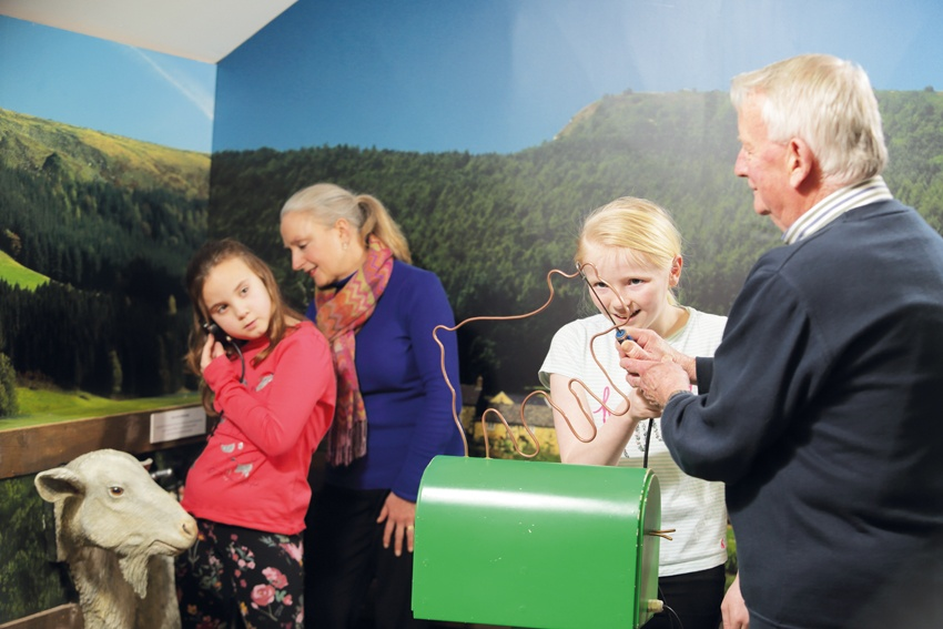 Wannabe vets of all ages need to be hands on to test their mettle in our interactive gallery.