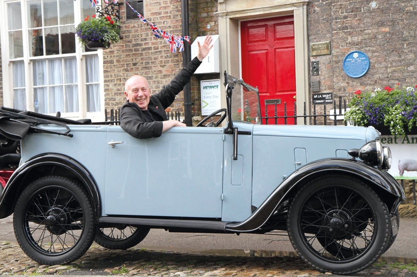 Good as new! All Creatures Great and Small star Christopher Timothy reunited with an old friend.